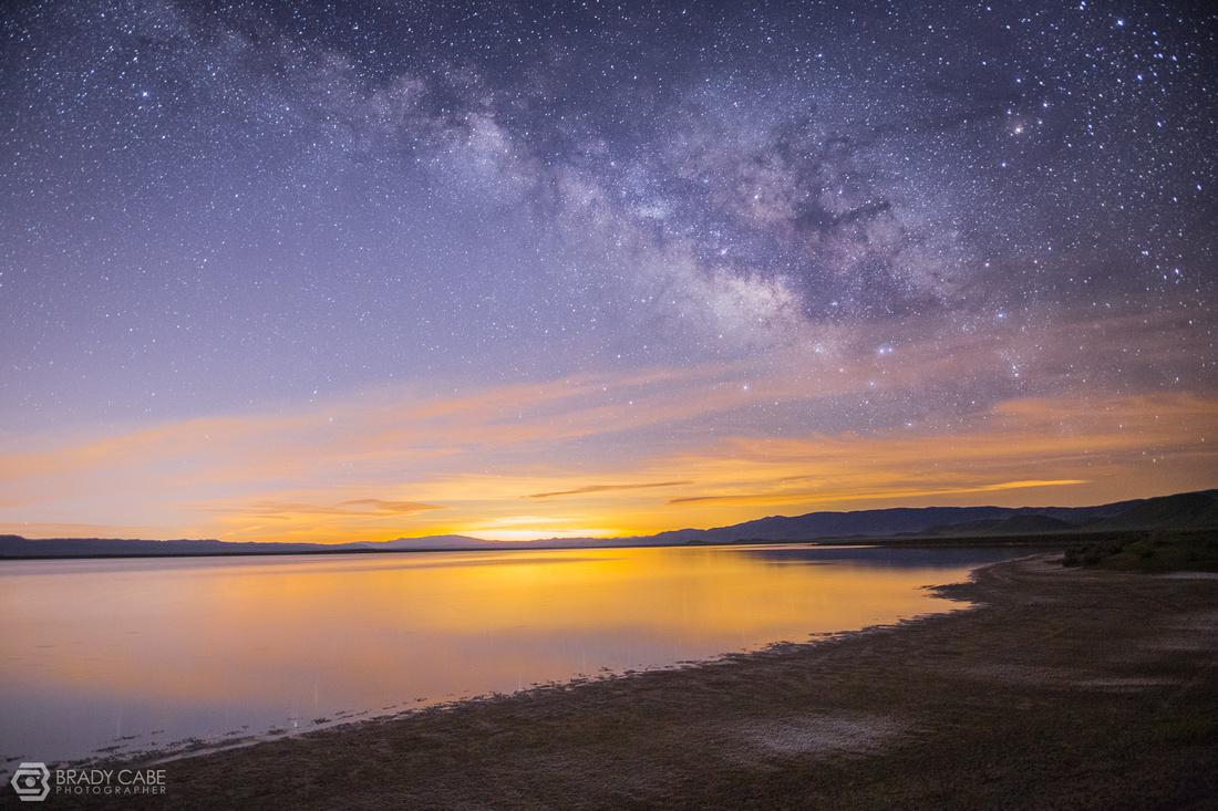 Soda Lake before Sunrise