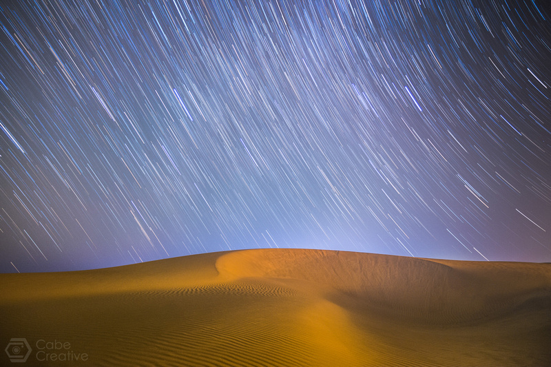 Oceano Dunes Star Trail